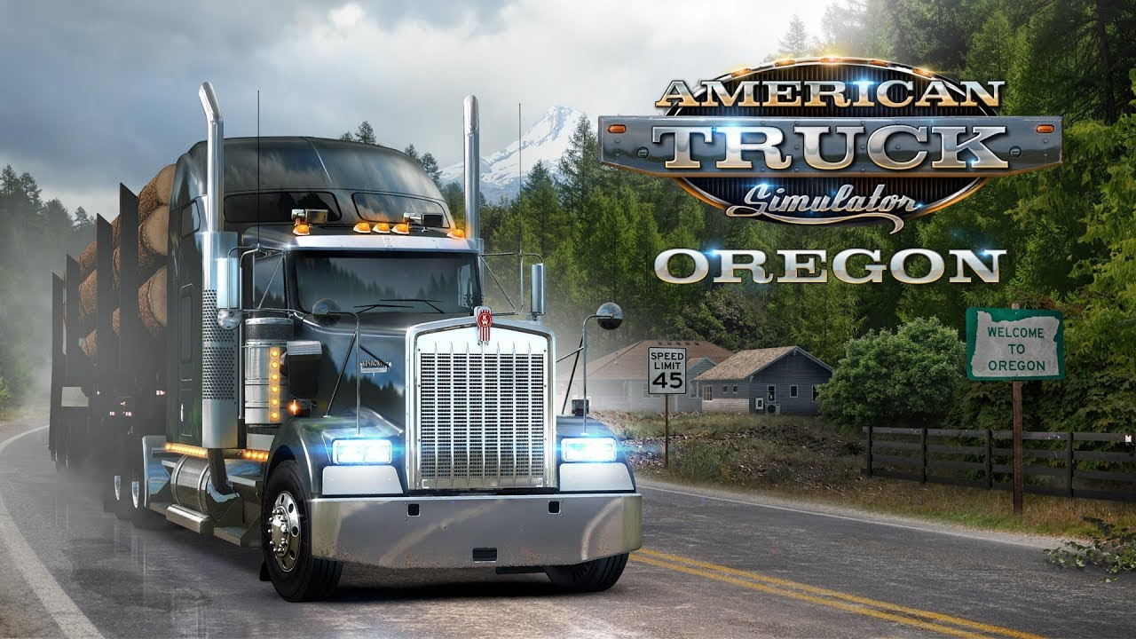 american truck simulator oregon launch trailer youtube. Black Bedroom Furniture Sets. Home Design Ideas