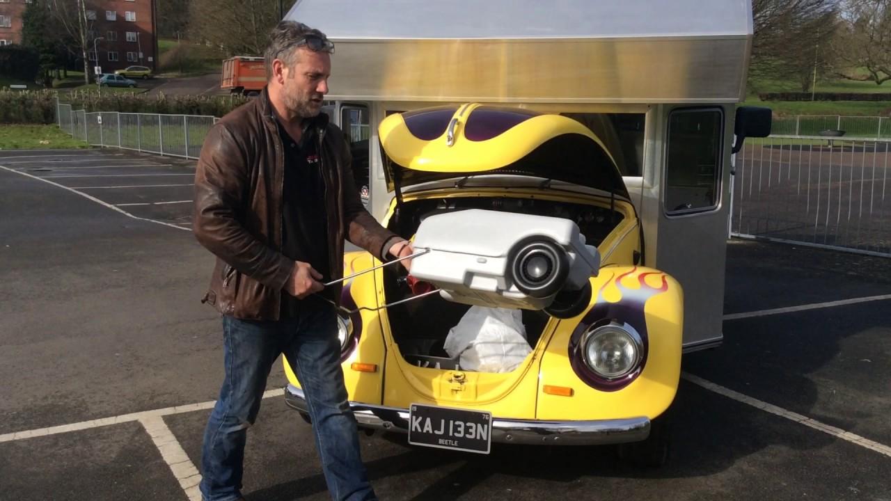 VW Camper Van 2017 >> VW Beetle coffee van conversion Lil bugger. - YouTube