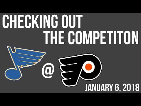 Checking out the competition: St. Louis Blues with Trevor Kraus