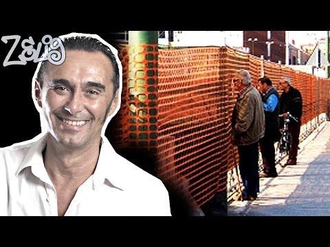 Giacobazzi - I pensionati nei cantieri | Zelig