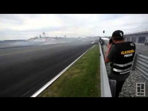 Entry Speed: 220 Kph / 136 Kph - Drifting !