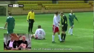 Shocking Soccer Match