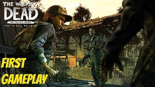 """The Walking Dead:Season 4: """"The Final Season"""" Gameplay First 10 minutes - twd s4 gameplay"""