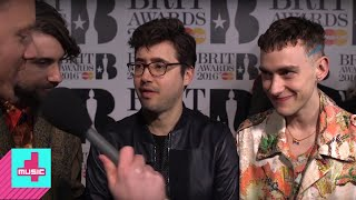 Years and Years Interview | The Brits 2016