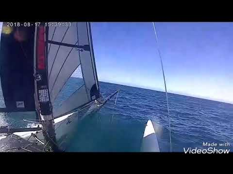 Tiger sailing offshore Durban