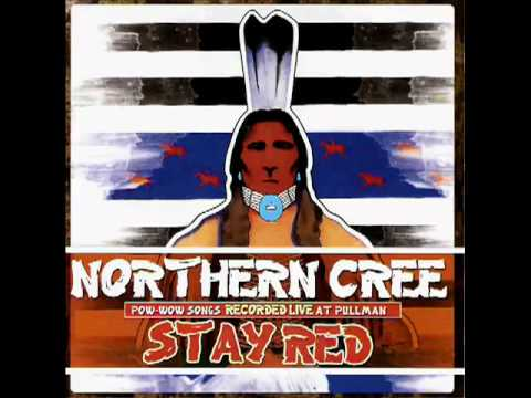 Northern Cree. War Cry. Pow wow Drum Song.