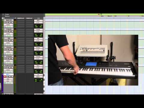 Recording Hardware Synths In Pro Tools-External MIDI Synth