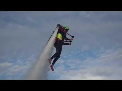 Jetpack rental: Jason Cook Flies with Jetpack