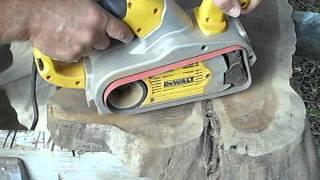 Dewalt Dw433 Belt Sander Tracking Problems