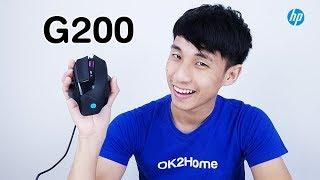 รีวิวเมาส์ HP G200 Gaming Mouse พร้อมไฟแบ็คไลท์ 8 สี