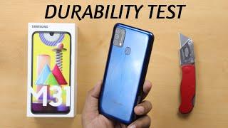 Samsung Galaxy M31 Durability Test - No Frame Phone ?