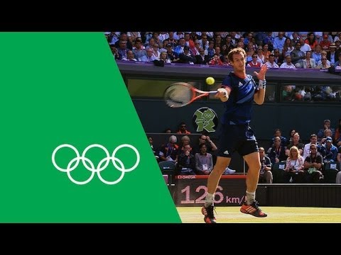Andy Murray's London 2012 Olympic Journey | Olympic Rewind