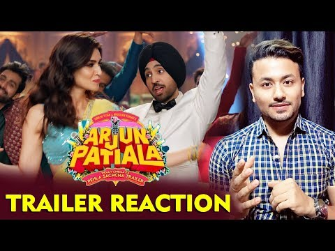 Arjun Patiala Trailer Reaction | Diljit Dosanjh, Kriti Sanon, Varun Sharma Mp3