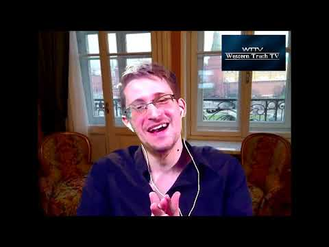 Edward Snowden Interview -  Moscow Russia - September 2018