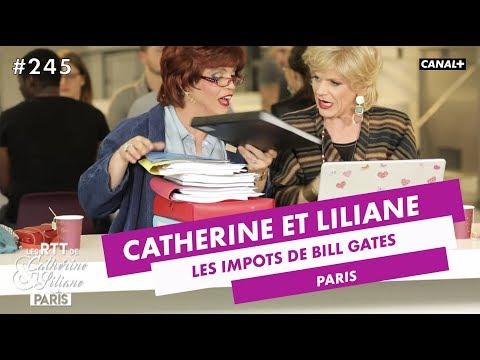 Les impôts de Bill Gates - Catherine et Liliane du 25/04 - CANAL +