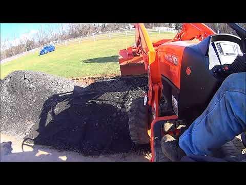 Repeat Kubota B2650 w/BH77 Backhoe Digging Stump/ Breaking