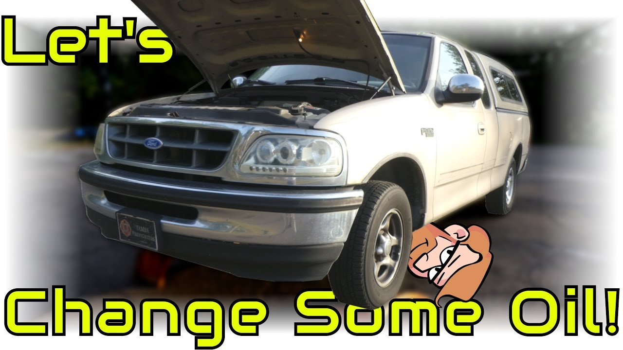 1999 ford f150 4.2 oil capacity