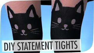DIY Katzen Strumpfhosen   kleinTanne & breedingunicorns   #flipdiy