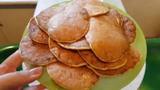 ПП Рецепт для похудения: самые простые оладушки из овсяных отрубей