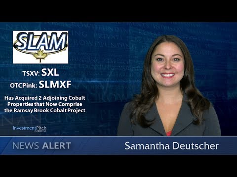 SLAM Exploration Acquired 2 adjoining Cobalt Properties