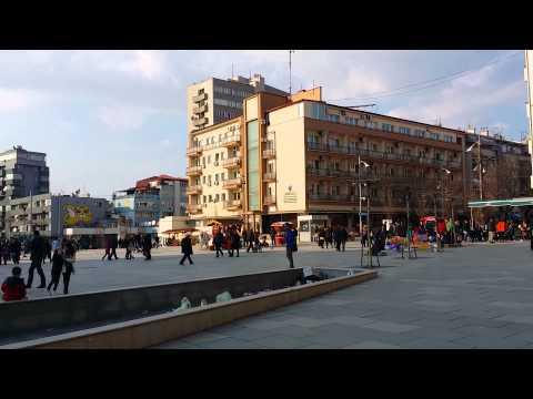 Habib Malik in Pristina city centre Kosovo