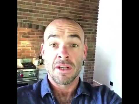Paul Blackthorne At home with the compost challenge..   ARROW