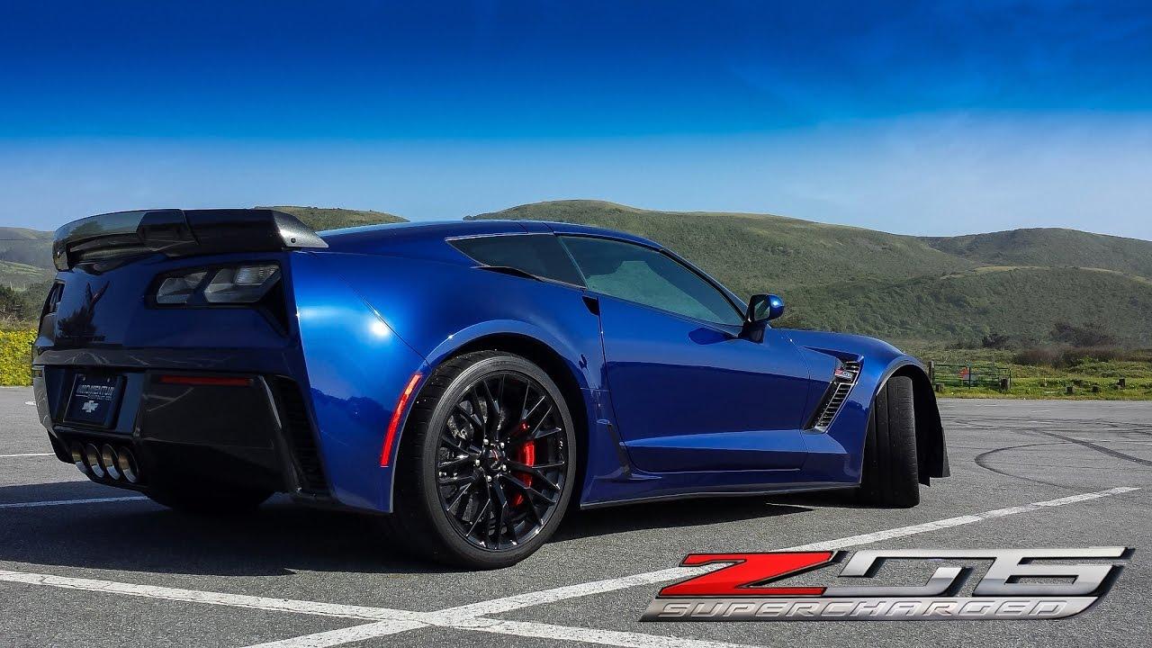 2016 Corvette Z07 >> 2016 Corvette Z06 - Sunday Drive - YouTube