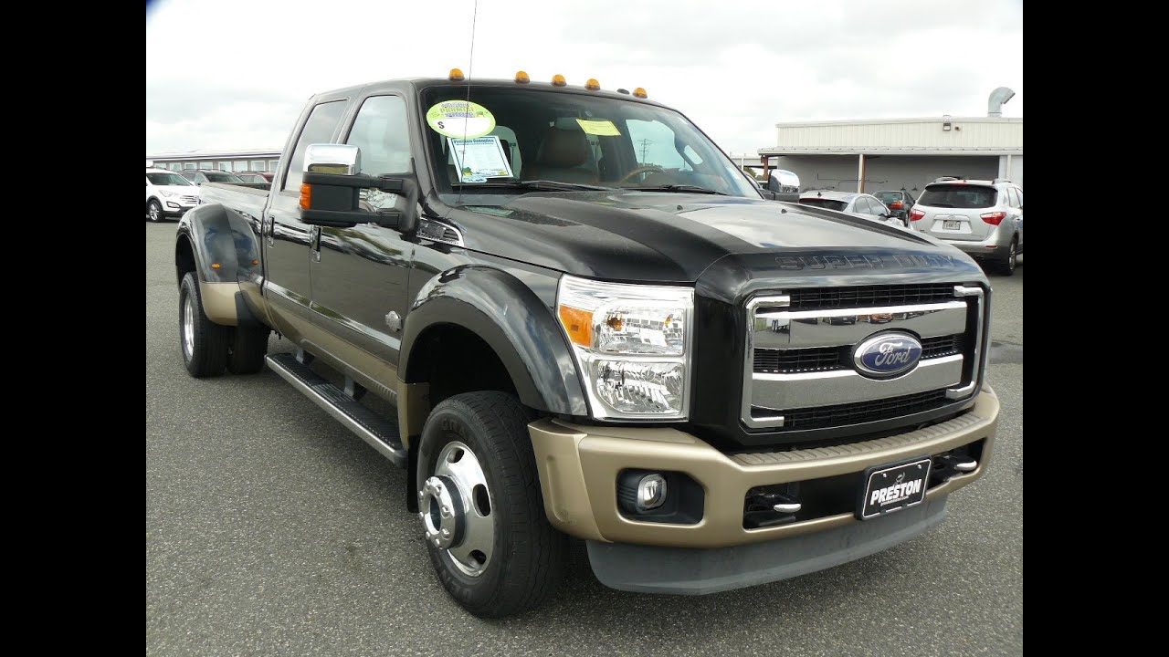 used 2011 ford f450 diesel v8 crew cab 4wd king ranch for sale maryland ford dealer f301365a. Black Bedroom Furniture Sets. Home Design Ideas
