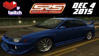 Stream Archive - Street Racing Syndicate - 12/4/15
