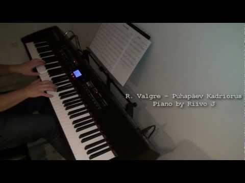 Raimond Valgre - Pühapäev Kadriorus (Sunday in Kadriorg) (Piano Cover)