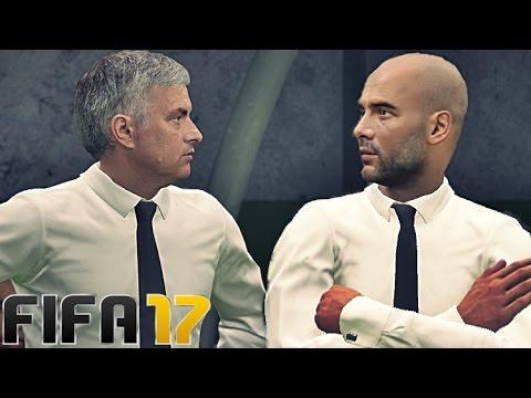 FIFA 17 - Manchester United vs Man City   HD 60FPS PS4