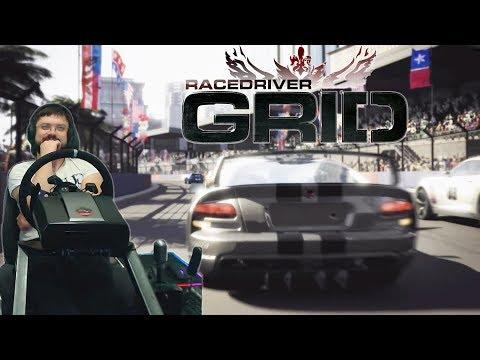 Race Driver: GRID - КАК ОНА МЕНЯ ПОИМЕЛА! КРЫШЕСНОСНЫЕ ГОНКИ!