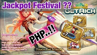Line Get Rich - Event Card S+ Valkyrie Skuld + Game play (Event jackpot PHP)