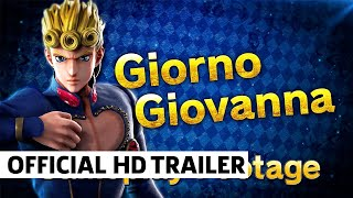 JUMP FORCE – Giorno Giovanna Gameplay Trailer
