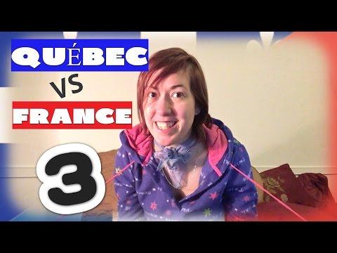 Québec VS France   #3 (Les parties du corps + l'apparence)