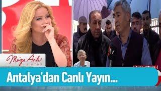 Antalya'dan canlı yayın... - Müge Anlı ile Tatlı Sert 26 Şubat 2019