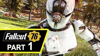 FALLOUT 76 Gameplay Walkthrough Part 1 (4K HD)