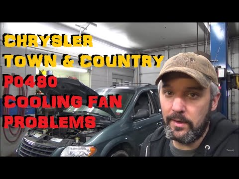 Chrysler Town & Country / Caravan - P0480 Cooling Fan trouble