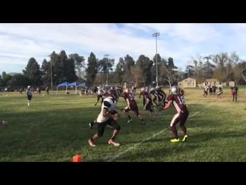 Albert Einstein Academy wins varsity football game vs. Concordia. October 3, 2014