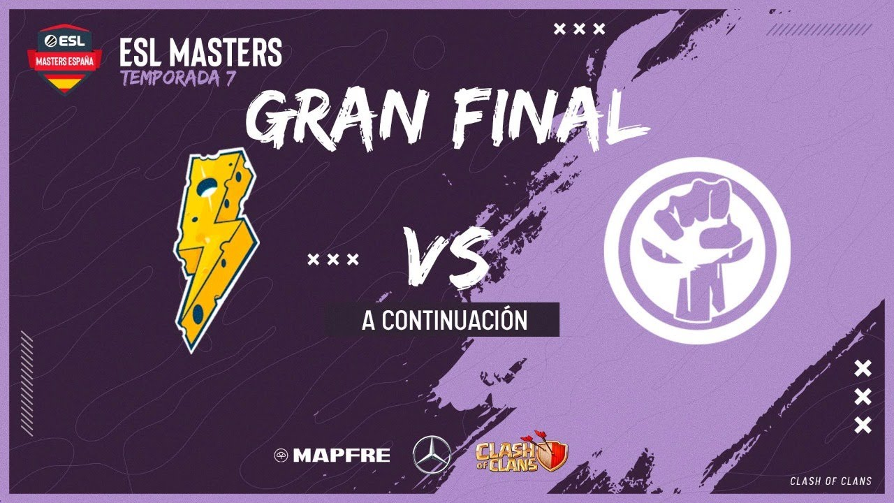 ESL Masters Clash of Clans - GRAN FINAL -  Thunder Squad vs Resistence