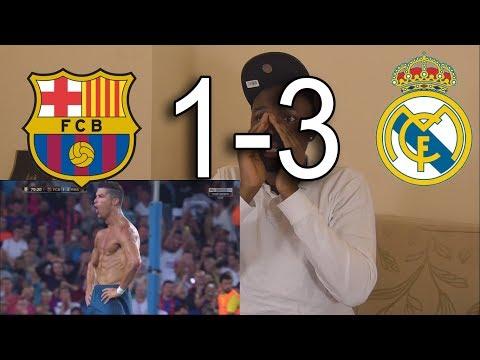 Barcelona vs Real Madrid 1-3 All Goals & Highlights: Reaction