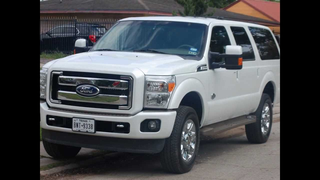 201120122013 Ford Excursion  YouTube