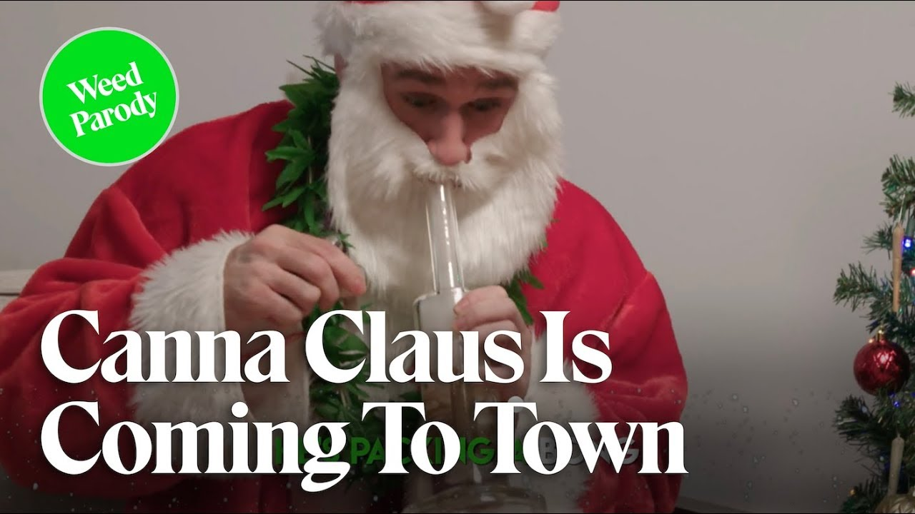 Canna Claus Is Coming To Town (Music Video) | Cannabis Longley | Herb