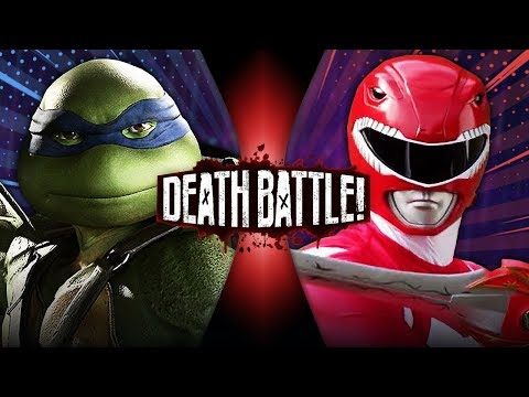 Leonardo VS Red Ranger Jason (Ninja Turtles VS Power Rangers) | DEATH BATTLE!