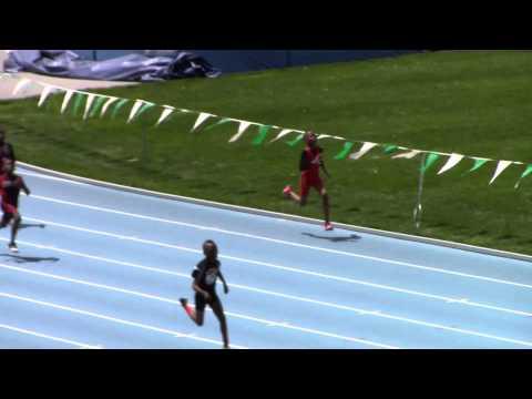 Claude Shepherd - 9/10 boys 200m - Icahn Stadium NY -Youth Challenge Series Meet 3