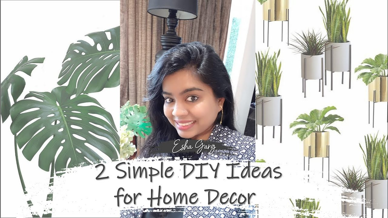 2 Simple DIY IDEAS for HOME DECOR | DDbE