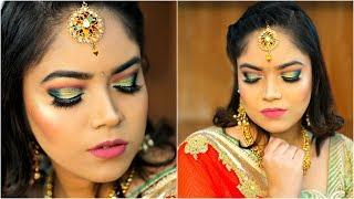 बिना ब्यूटी पार्लर Wedding Party Makeup कैसे करें - Step by Step Makeup for Beginners l Anaysa
