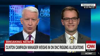 Robby Mook on Donna Brazile's accusations