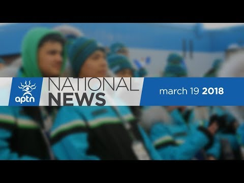 APTN National News March 19, 2018 – Arctic Winter Games open, Marleen Poitras