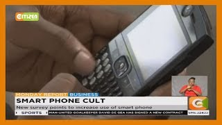 New survey points to increase use of smart phone